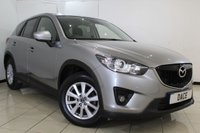 USED 2015 15 MAZDA CX-5 2.2 D SE-L NAV 5DR 148 BHP FULL MAZDA SERVICE HISTORY + BLUETOOTH + CRISE CONTROL + MULTI FUNCTION WHEEL + CLIMATE CONTROL + 17 INCH ALLOY WHEELS
