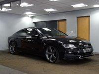 USED 2013 62 AUDI A7 3.0 TDI QUATTRO S LINE BLACK EDITION 5d AUTO 201 BHP