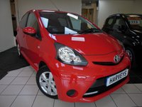 2014 TOYOTA AYGO 1.0 VVT-I MOVE WITH STYLE 5d 68 BHP £5295.00