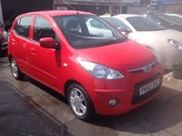 USED 2010 60 HYUNDAI I10 1.1 EDITION 5d 65 BHP Low milage, low tax, low insurance, economical, superb, choice of 2