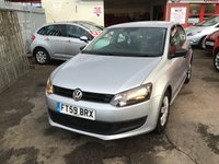 USED 2010 59 VOLKSWAGEN POLO 1.2 S A/C 5d 60 BHP 5 door polo, stunning example, great value, must be seen.