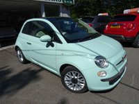 USED 2014 64 FIAT 500 0.9 TWINAIR LOUNGE 3d 85 BHP Low Mileage, One Lady Owner from new, Comprehensive Service History + Just Serviced by ourselves, Minimum 8 months MOT, Excellent on fuel economy! ZERO Road Tax!