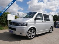 USED 2010 60 VOLKSWAGEN TRANSPORTER 2.0 T32 TDI KOMBI 1d 177 BHP GREAT CONDITION KOMBI, LOW MILES, FULL LEATHER INTERIOR, TOW BAR, AIR CON AND REAR PARKING SENSORS