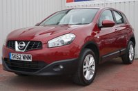 USED 2012 62 NISSAN QASHQAI 1.5 ACENTA DCI 5d 110 BHP DEALER FULL SERVICE HISTORY