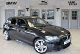 USED 2013 63 BMW 1 SERIES 2.0 120D XDRIVE M SPORT 5d 181 BHP FULL BLACK LEATHER SEATS + SERVICE HISTORY + BLUETOOTH + DAB RADIO + HEATED FRONT SEATS + 18 INCH ALLOYS + REAR PARKING SENSORS + CRUISE CONTROL + AUTOMATIC AIR CONDITIONING