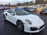 2014 PORSCHE 911 3.8 TURBO PDK 2d 520 BHP £94999.00