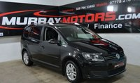 2014 VOLKSWAGEN TOURAN 1.6 SE TDI BLUEMOTION TECHNOLOGY 7 SEATER £10250.00