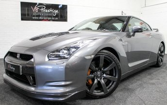 2009 NISSAN GT-R 3.8 BLACK EDITION 2d AUTO 600 BHP £SOLD