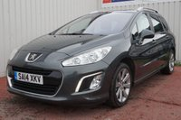 USED 2014 14 PEUGEOT 308 1.6 E-HDI SW ACTIVE NAVIGATION VERSION 5d 115 BHP 1 FORMER KEEPER