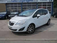 2012 VAUXHALL MERIVA 1.4 EXCLUSIV LIMITED EDITION 5d 119 BHP £SOLD