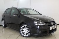 USED 2007 57 VOLKSWAGEN GOLF 2.0 GT SPORT TDI 5DR 168 BHP FULL SERVICE HISTORY + AIR CONDITIONING + RADIO/CD + ELECTRIC WINDOWS + ELECTRIC MIRRORS + 16 INCH ALLOY WHEELS