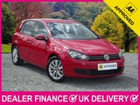 USED 2011 61 VOLKSWAGEN GOLF 2.0 TDI MATCH BLUEMOTION 140 BHP AIR CON DAB AIR CON PARKING SENSORS ALLOY WHEELS