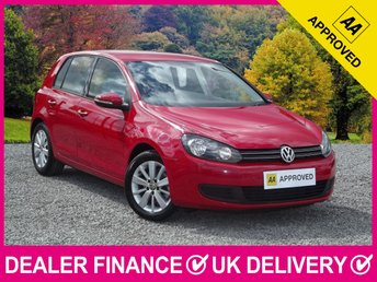 2011 VOLKSWAGEN GOLF 2.0 TDI MATCH BLUEMOTION 140 BHP AIR CON £4350.00