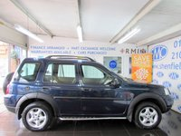 USED 2003 53 LAND ROVER FREELANDER 2.0 TD4 SE STATION WAGON 5d 110 BHP