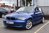 USED 2010 10 BMW 1 SERIES 2.0 116I SPORT 3d 121 BHP Full Service History 9 Stamps..Great Value BMW..