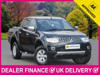 USED 2013 13 MITSUBISHI L200 2.5 DI-D TROJAN DOUBLE CAB 4WD 180 BHP BLUETOOTH PHONE AIR CON ALLOY WHEELS
