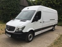 2015 MERCEDES-BENZ SPRINTER 2.1 313 CDI LWB 1d 129 BHP 6 SPEED 129 BHP  £12450.00