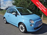 2014 FIAT 500 1.2 COLOUR THERAPY 3d 69 BHP £4990.00