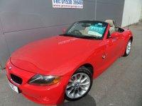 2004 BMW Z4 2.2 Z4 SE ROADSTER 2d 168 BHP  LOADS OF SERVICE HISTORY £4995.00