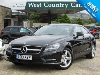 2013 MERCEDES-BENZ CLS CLASS 2.1 CLS250 CDI BLUEEFFICIENCY AMG SPORT 4d AUTO 204 BHP £16000.00