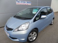USED 2009 59 HONDA JAZZ 1.3 I-VTEC ES 5d 98 BHP LOW MILEAGE, DRIVES WELL, SERVICE HISTORY