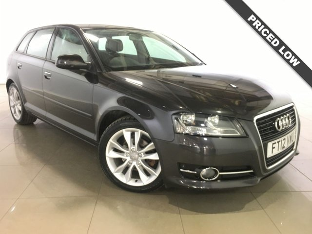 View our 2012 12 AUDI A3 1.6 TDI SPORT 5d 103 BHP