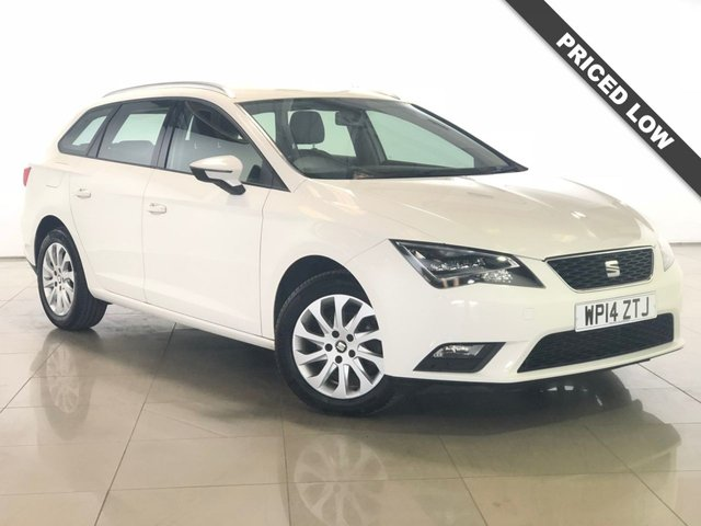 View our 2014 14 SEAT LEON 1.6 TDI SE TECHNOLOGY NAV 5d 105 BHP
