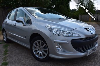 2011 PEUGEOT 308 1.6 ENVY 5d 120 BHP £4500.00