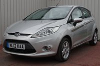 USED 2012 12 FORD FIESTA 1.2 ZETEC 5d 81 BHP FULL SERVICE HISTORY