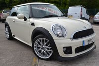 2012 MINI HATCH ONE 1.6 Full Factoy John Cooper Works Aerodynamic Kit ONE D 3d 90 BHP £6499.00