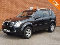 USED 2008 08 SSANGYONG REXTON 2.7 270 S 5d AUTO 162 BHP