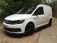 2016 VOLKSWAGEN CADDY 2.0 C20 PLUS TDI TECH 150 BHP VERY HIGH SPEC £11495.00