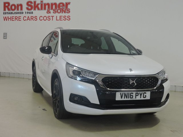 View our 2016 16 DS DS 4 (90)   1.6 BLUEHDI CROSSBACK S/S 5d 120 BHP