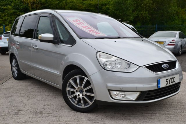 2008 08 FORD GALAXY 2.0 GHIA TDCI 5d 143 BHP 7 Seats