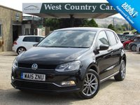 USED 2015 15 VOLKSWAGEN POLO 1.2 SE DESIGN TSI 5d 90 BHP Fun Looking Polo With A Good Spec