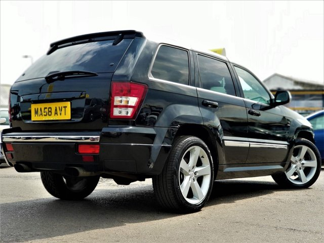 2008 58 JEEP GRAND CHEROKEE 3.0 S LIMITED CRD V6 5d 215 BHP! p/x welcome! AUTO! SRT8 LOOKS! TWIN EXHAUST! SAT-NAV! REVERSE CAMERA! FULL HEATED BLACK LEATHER! ELECTRIC+MEMORY SEATS! PARKING AID (FRONT+REAR)! BLUETOOTH! AUX PORT! CRUISE & CLIMATE CONTROL! 20inch ALLOY WHEELS! BOSTON SOUND! TIMING CHAIN DRIVEN! FINANCE AVAILABLE! NEW MOT & SERVICE!