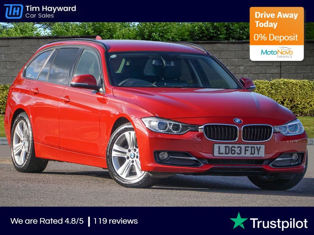 USED 2013 63 BMW 3 SERIES 2.0 320D SPORT TOURING Auto NAV Pro Xenon ONE OWNER MASSIVE SPECIFICATION FBMWSH