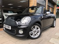 USED 2015 15 MINI CONVERTIBLE 1.6 ONE [PEPPER PK] 2d AUTO 98 BHP