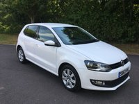 USED 2013 63 VOLKSWAGEN POLO 1.2 MATCH EDITION 5d 59 BHP REAR PARKING SENSORS, BLUETOOTH, AIR CONDITIONING
