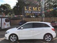 2011 MERCEDES-BENZ B CLASS 1.8 B200 CDI BLUEEFFICIENCY SPORT 5d 136 BHP £7299.00