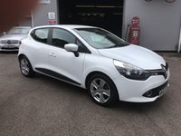 USED 2013 63 RENAULT CLIO 1.1 EXPRESSION PLUS 16V 5d 75 BHP AIR CONDITIONED, ALLOYS, LOW MILEAGE LOW INSURANCE