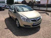 USED 2009 09 VAUXHALL CORSA 1.4 CLUB 5d 90 BHP SERVICE HISTORY-1 FORMER KEEPER-5 DOOR-LOW MILEAGE