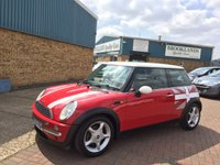 2004 MINI HATCH COOPER 1.6 COOPER 3 Door Chili Red Black Leather/Red Cloth 118 BHP Mot Until 25th October 2019
