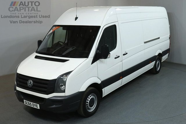 2016 65 VOLKSWAGEN CRAFTER 2.0 CR35 TDI 135 BHP LWB HIGH ROOF  ONE OWNER FROM NEW