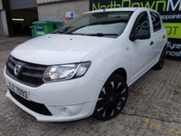 USED 2015 DACIA SANDERO 0.9 AMBIANCE TCE 5d 90 BHP Excellent Condition, Low Road Tax, No Deposit Finance, One Owner, Low Mileage