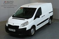 USED 2015 65 PEUGEOT EXPERT 1.6 HDI 1000 PROFESSIONAL 90 BHP L1 H1 SWB LOW ROOF AIR CON ONE OWNER, TWIN SIDE LOADING DOOR