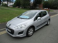 2012 PEUGEOT 308 1.6 E-HDI ACCESS 5d AUTO 112 BHP £5499.00
