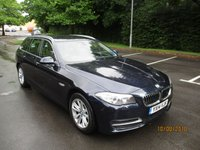 USED 2014 14 BMW 5 SERIES 2.0 520D SE TOURING 5d AUTO 181 BHP ABSOLUTELY STUNNING BMW 20 DIESEL SE TOURING WITH HUGE SPEC !!