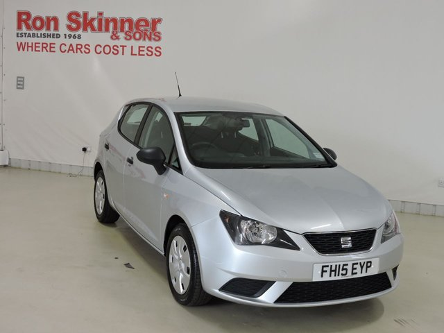 View our 2015 15 SEAT IBIZA 1.2 S A/C 5d 69 BHP