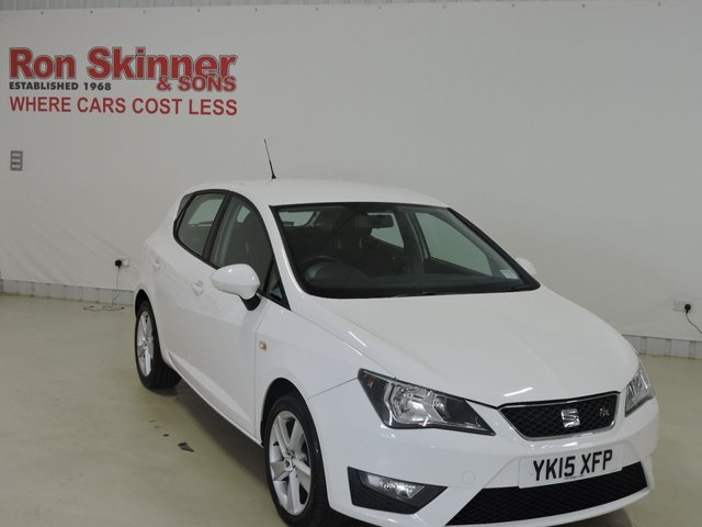 View our 2015 15 SEAT IBIZA 1.2 TSI FR 5d 104 BHP